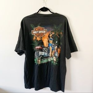 Harley Davidson Jamaica Graphic T-Shirt Black XL